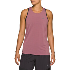 asics Race Mouwloze Top Dames, purple oxide